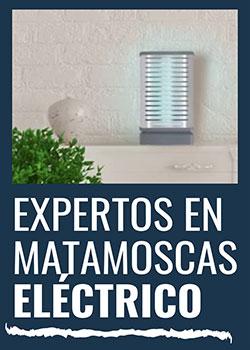 Expertos en matamoscas eléctrico