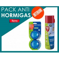 Pack hormigas interior