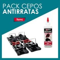 Pack cepos antirratas + atrayente