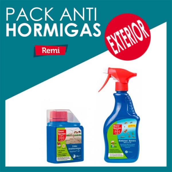 Pack hormigas exterior