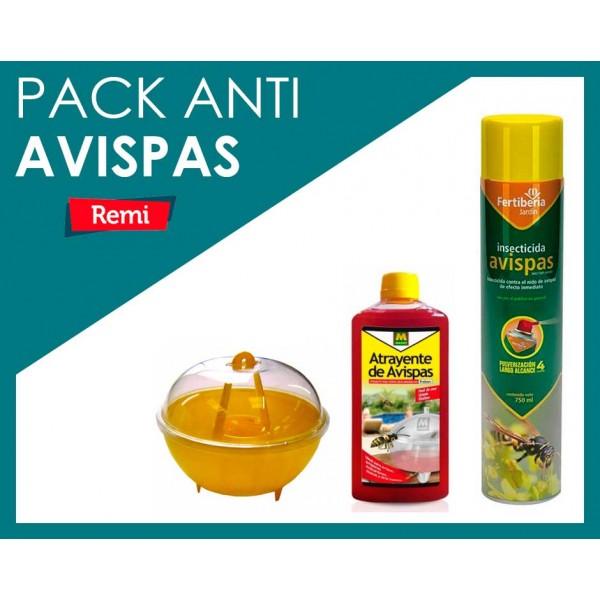 Pack tratamiento avispas básico