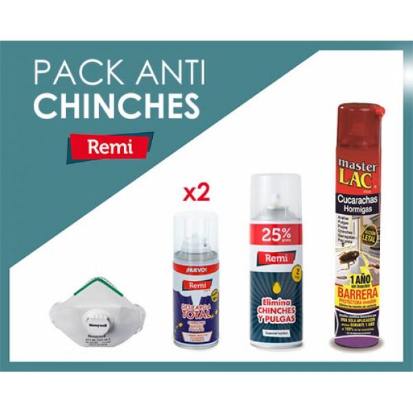 Pack anti chinches fumigación