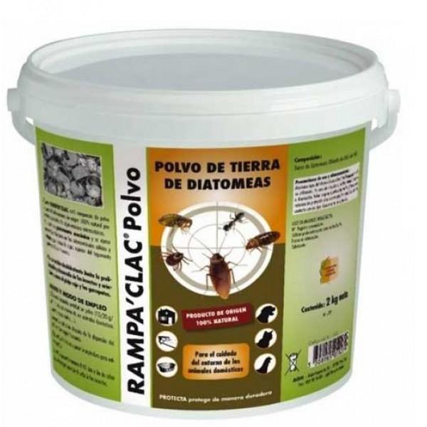 Rampa'Clac 2 kg de tierra de diatomeas