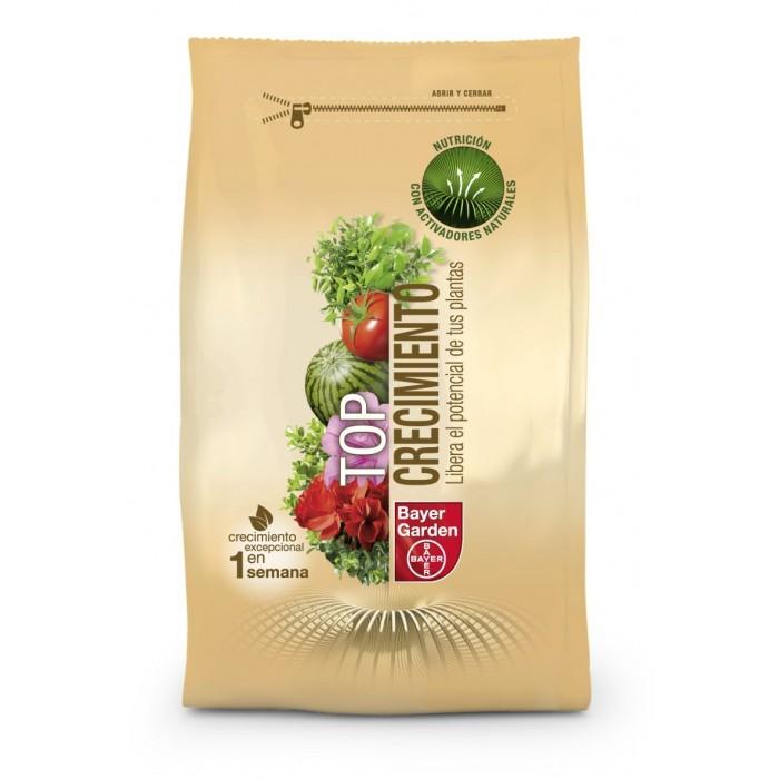 Fertilizante granulado top crecimiento bayer 1kg remi hogar for Horario verdecora