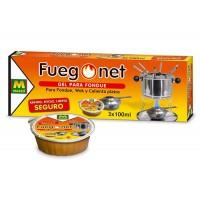 Gel para fondue Fuegonet