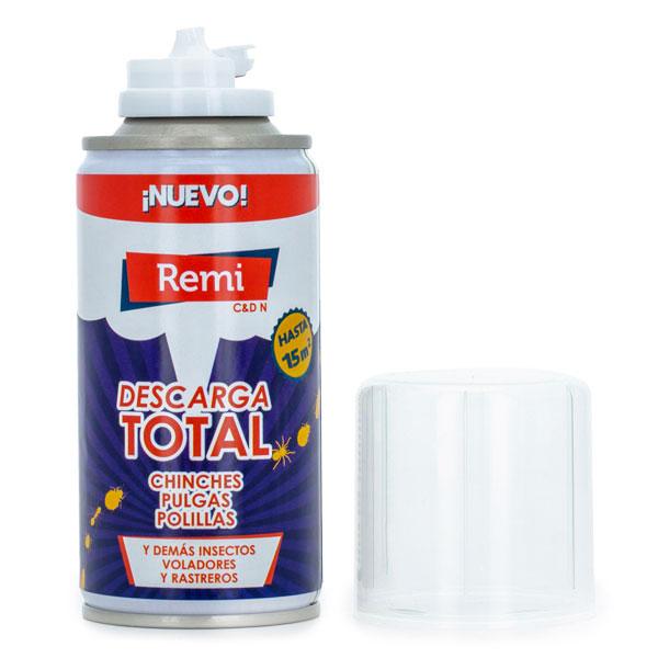 Descarga total y bomba insecticida