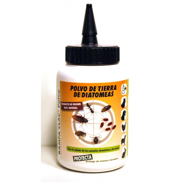 Tierra de diatomeas 600 ml insecticida natural