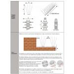 Pinchos antipalomas E-30