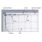 Alambre Galvanizado estándar 2mm para redes palomas