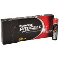 Pilas Alcalinas Duracell AAA pack 10 u