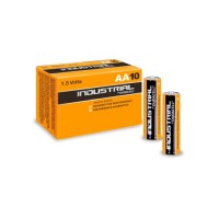 Pilas Alcalinas Duracell AA Industrial pack 10 u