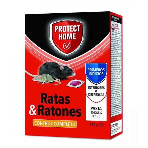 Raticida pasta Protect Home 150 gr
