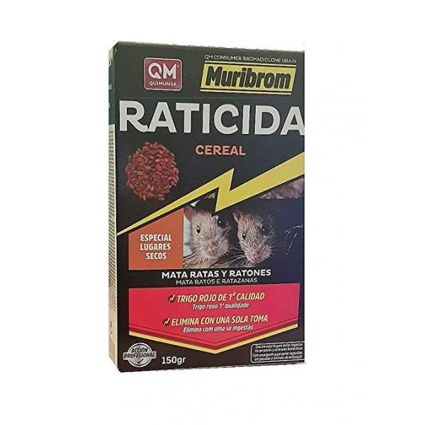 Ikebana Raticida Cereal 150gr